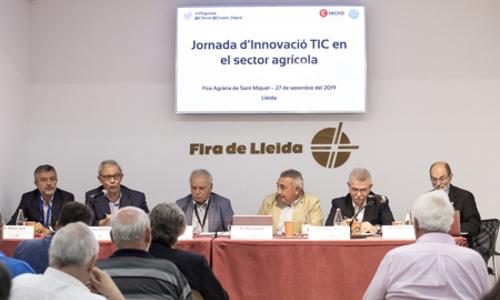 Jornada d'Innovaciò Tencològica a Lleida: la protección del medi ambient, la captació de dades i la transferencia de coneixements a debat